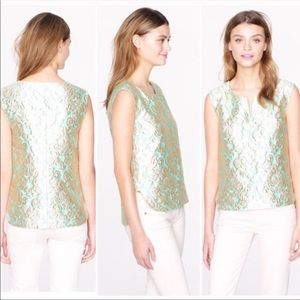 Gilded Jacquard Top in Brocade by J.Crew Factory
